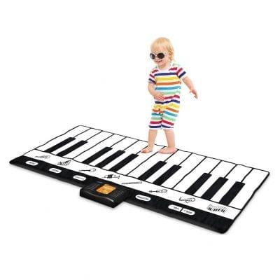Play22 Keyboard Playmat Piano Play Mat- 24 Keys Adjustable Vol Piano Mat