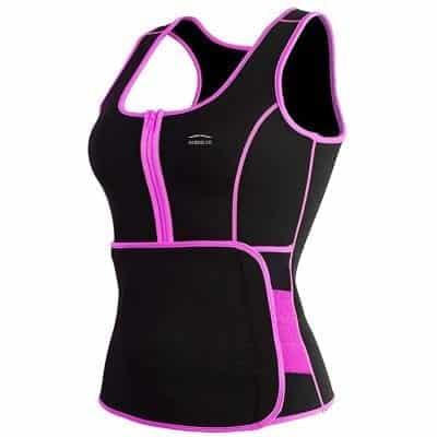 ALONG FIT Sweat Sauna Vest for Women Neoprene Body Shaper