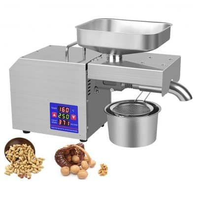 NEWTRY Family Oil Pressing Machine with Temp Control