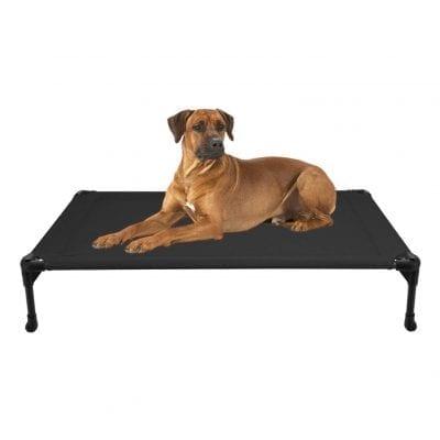 Veehoo Elevated Pet Bed, No-Slip Feet