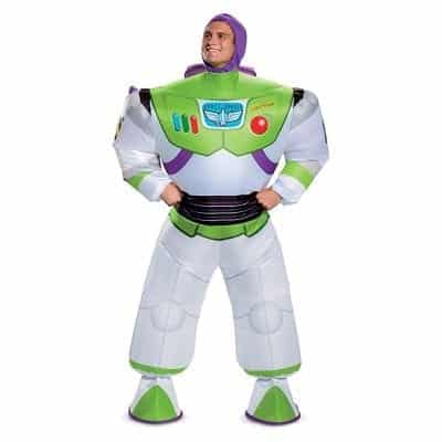 Toy Story Buzz Adult Inflatable Costume