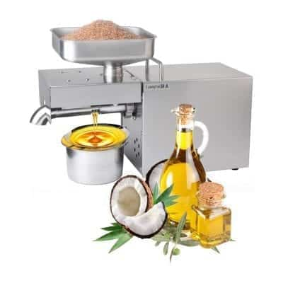 YUEWO 1500W Kitchen Oil Press Machine