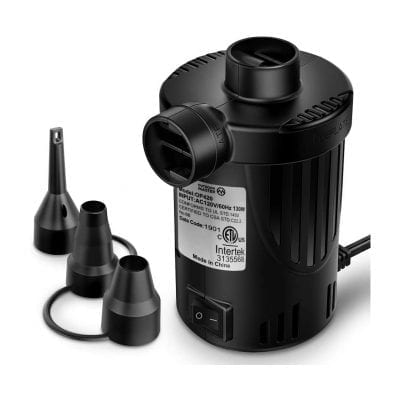 OutdoorMaster Air Mattress Pump