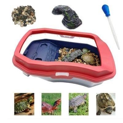 Rnairni Turtle Tank Aquarium Filter Layer Design