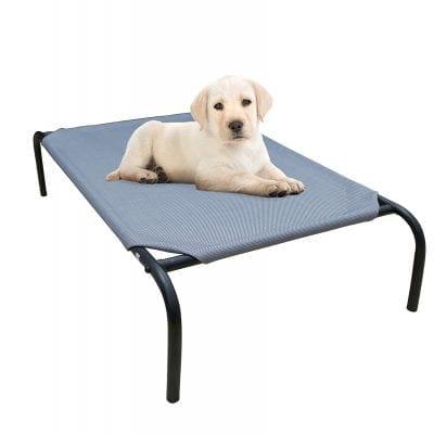 PHYEX Heavy-Duty Steel Elevated Pet Bed