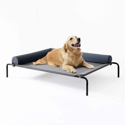 Love's cabin Elevated Dog Bed with a Breathable Mesh
