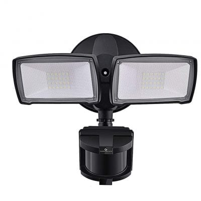 GLORIOUS-LITE LED Security Lights with Motion Sensor Light