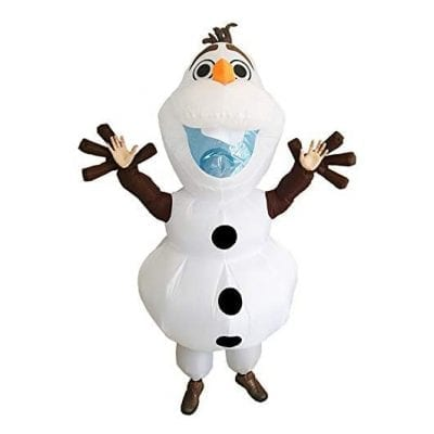 UBCM Olaf Inflatable Costume Dress - Adult Size Costume