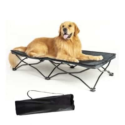 YEP HHO Elevated Pet Bed - Breathable Cooling Mesh