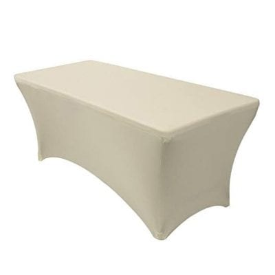 Banquet Tables Pro Rectangular Spandex Tablecover