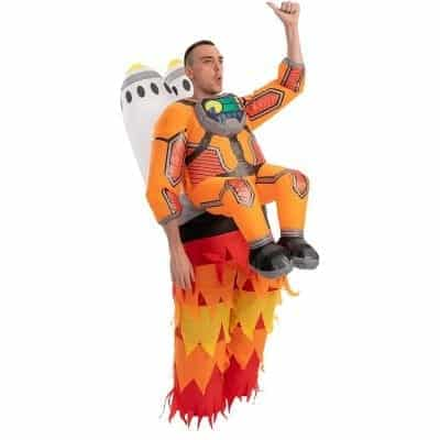 Spooktacular Creations Inflatable Costume Jet Pack - Adult and Unisex
