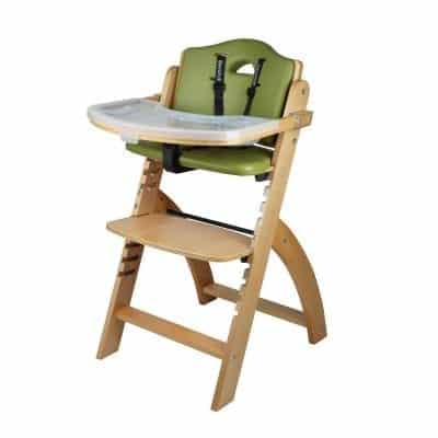 Abiie Wood High Chair for Baby