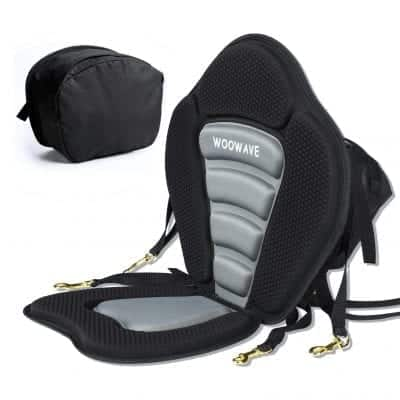WOOWAVE Kayak Seat Padded Deluxe Seat