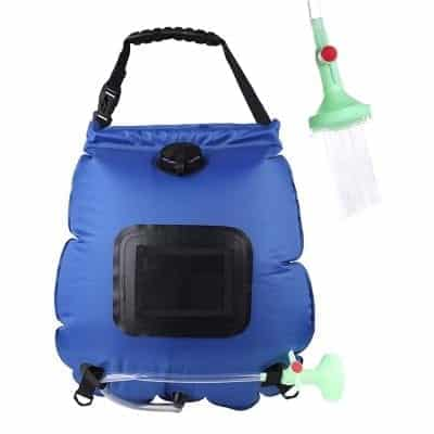 PGYFIS Solar Shower Bag Camping Shower