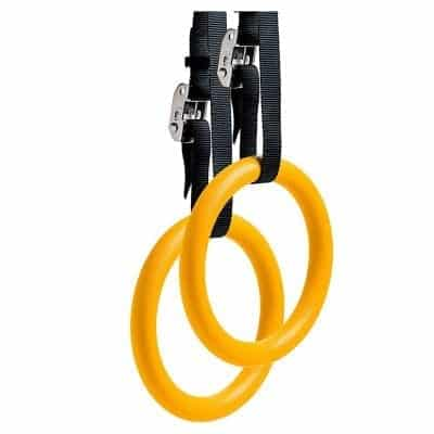 REEHUT Gymnastic Rings with Adjustable Straps