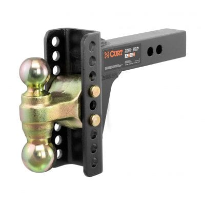 CURT 45900 Adjustable Trailer Hitch Ball Mount