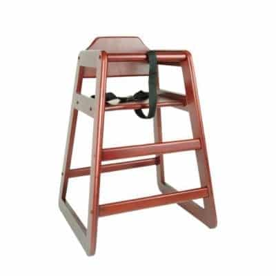 Excellente' Wood High Chair for Baby
