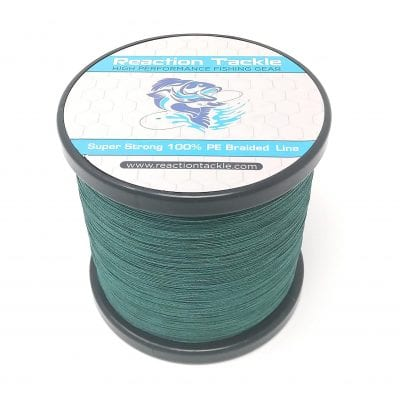Reaction Tackle Braided Fishing Line