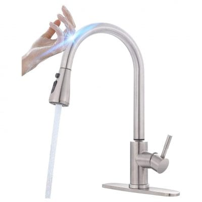 MSTJRY Touch Kitchen Faucet with Pull Down Sprayer