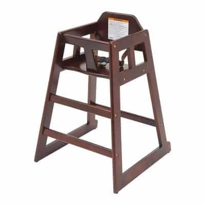 Winco Wood High Chair for Baby