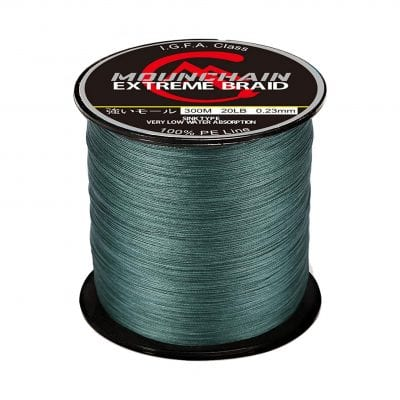 Mounchain Braided Fishing Line, Abrasion Resistant