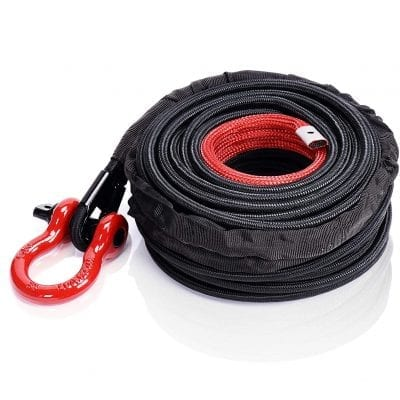 ORCISH Synthetic Winch Rope with Hook and Sleeve Protection