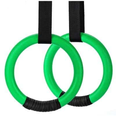 PACEARTH Gymnastic Rings for Home Gym Full Body Workout