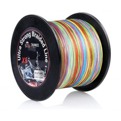 RUNCL Braided Fishing Line, Multiple Colors