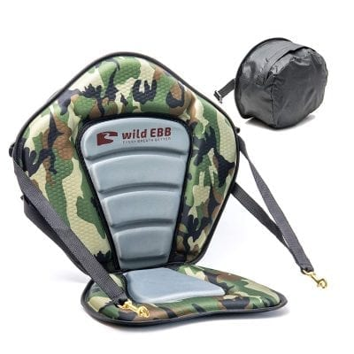 wild EBB Kayak Seat with Back Support for Sit On Top Kayaks