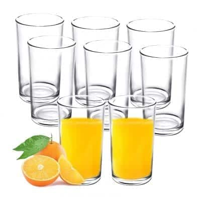 Youngever 9-oz Plastic Drinking Tumblers