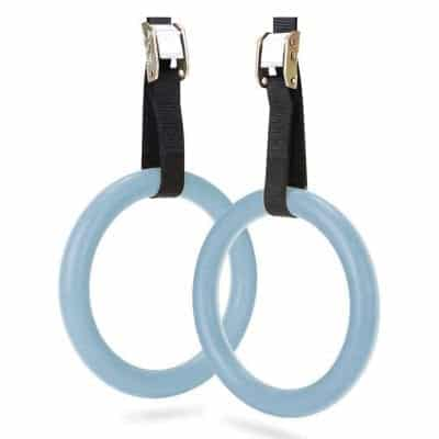 ZIBY Gymnastic Rings with Adjustable Straps
