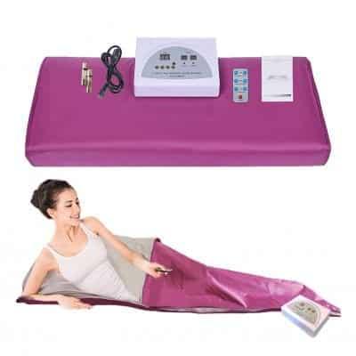 JKIUI Infrared Sauna Blanket, Purple
