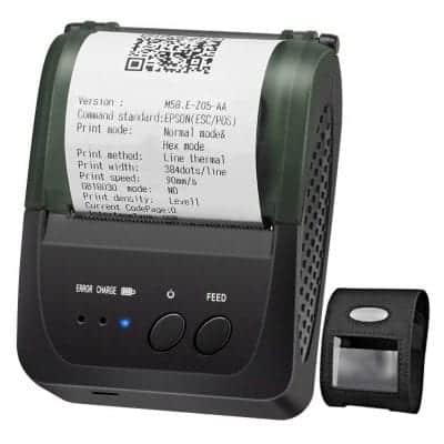 LOSRECAL Portable Mini Wireless Receipt Printer