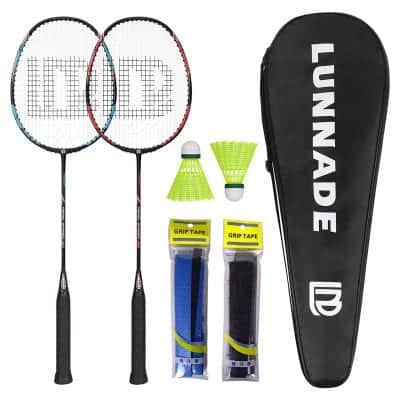 LUNNADE Badminton Racket, Lightweight and Durable
