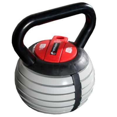 Titan Fitness Kettlebell Weight Adjustable