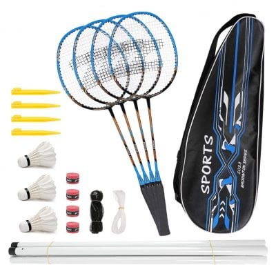 Fostoy Badminton Racquets with a Carry Bag