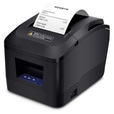 MUNBYN Receipt Printer with Auto Cutter P098