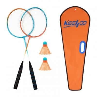 Keehoo Badminton Rackets Set, 2 Player