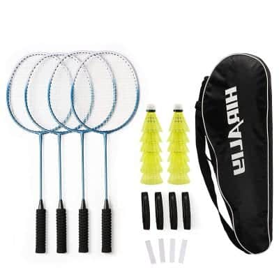 HIRALIY Badminton Racket Set
