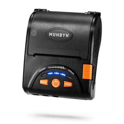 MUNBYN Square Android Compatible Mobile Receipt Printer P001
