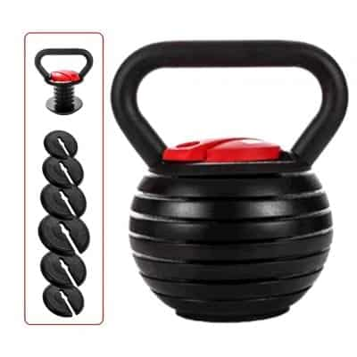 Shanchar Kettlebell Strength Training Adjustable Kettlebell