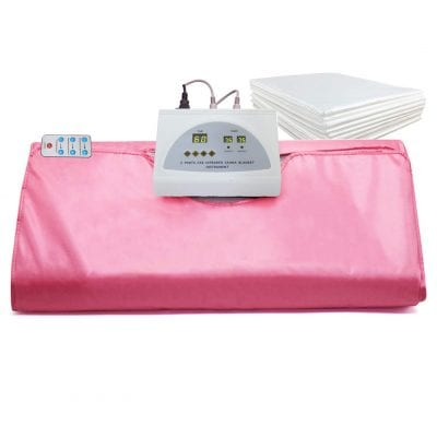 VANELL Sauna Blanket for Home Beauty (Pink)