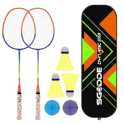 SGODDE Badminton Racket Set