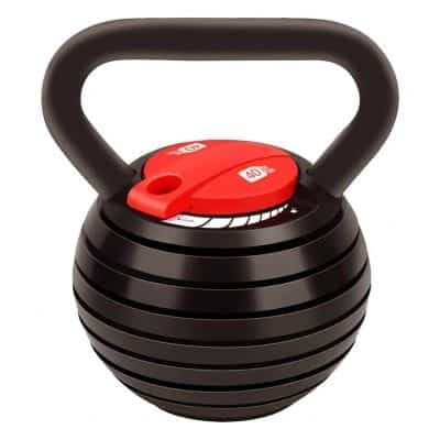 AFITNESS Adjustable Kettlebell 10 to 40lbs