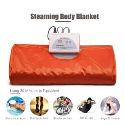 ETE ETMATE Sauna Blanket (Orange)