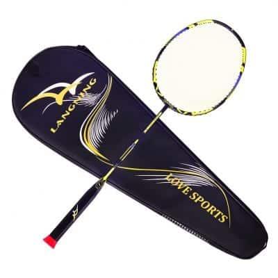 LANGNING Badminton Racquet Set