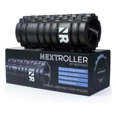 Nextrino Vibrating Foam Roller 3 Speed High-Density Massager Roll