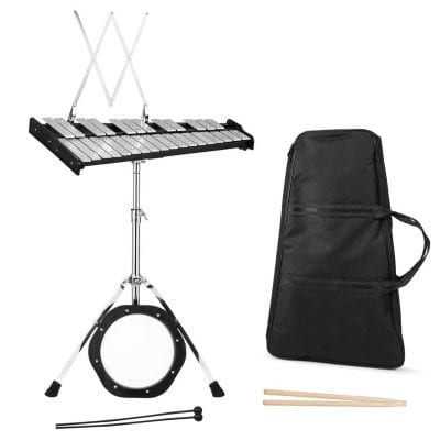 Giantex Percussion Bell Kit with a Carrying Bag