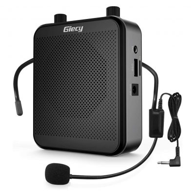 Giecy Rechargeable Battery Bluetooth PA System