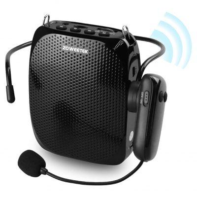 ZOWEETEK Voice Amplifier, 1800mAh Rechargeable Battery